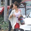 Brooke Burke – Leaving the gym in Malibu - 454 x 681