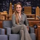 Jennifer Lopez visits 'The Tonight Show Starring Jimmy Fallon' at Rockefeller Center on March 1, 2017 in New York City