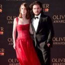 Rose Leslie and Kit Harington : The Olivier Awards 2017 - 396 x 600