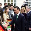 Mexican President Enrique Pena Nieto on Visit to Germany - 454 x 312