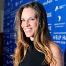Hilary Swank arrives at the Cinema For Peace event benefitting J/P Haitian Relief Organization in Los Angeles held at Montage Hotel on January 14, 2012