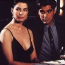 Sela Ward and George Clooney