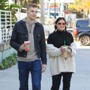 Ariel Winter and Levi Meaden at Starbucks in Studio City 12/3/ 2016 - 454 x 681
