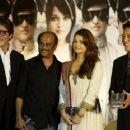 "Aishwarya Rai Checks Out ""Robot"" Launch"