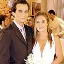 Adriana Esteves and Wagner Moura
