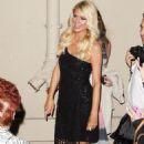 """Paris Hilton Drops By """"Jimmy Kimmel Live"""""""
