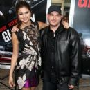 Selena Gomez & Ethan Hawke at The Getaway premiere at The Regency Village Theatre in Westwood, California on August 26 - 454 x 578