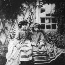 Alice (right) and her sister Victoria in the 1850s