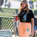 Chiara Ferragni – Seen at the Sempione park Leone in Milan - 454 x 748