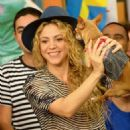 Shakira At Univision Despierta America In Miami