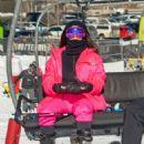 Kim Kardashian – Hitting the slopes in Aspen - 454 x 641