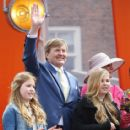 The Dutch Royal Family Attend King's Day - 414 x 600