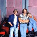 Matthew Lawrence, Andrew Lawrence and Joey Lawrence - 454 x 552