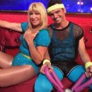 Tony Dovolani and Suzanne Somers