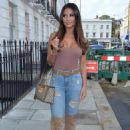 Yazmin Oukhellou – Seen out and about in Chelsea