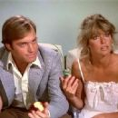 Farrah Fawcett and Stephen Collins