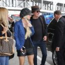 Richie Sambora and Orianthi at Lax on April 8, 2016