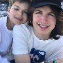 Lorenzo Fragali and half-brother Lucas Jagger - 454 x 453