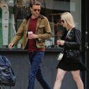 May 11th 2013 - Dakota Fanning and Jamie Strachan - 454 x 554