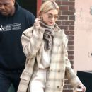 Hailey Baldwin – Leaving a building in NYC