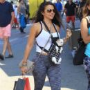 Vida Guerra Shopping at The Grove in Hollywood - 454 x 681