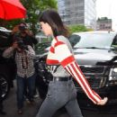 Kendall Jenner – Walking to her car in New York City - 454 x 683