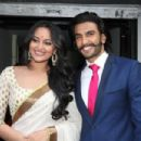 Sonakshi Sinha and Ranveer Singh at the Lootera Trailer Launch event - 454 x 303