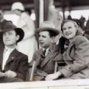 Lew Ayres, Ken Murray and Ginger Rogers