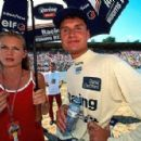 David Coulthard and Andrea Murray