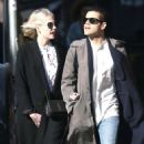 Lucy Boynton and Rami Malek Out in New York 03/11/2019 - 454 x 561