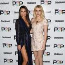 Lea Michele and Emma Roberts – Entertainment Weekly's Popfest at The Reef in Los Angeles 10/30/ 2016 - 454 x 613