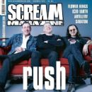 Neil Peart, Alex Lifeson, Geddy Lee - Scream Magazine Cover [Norway] (December 2013)