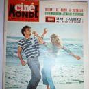 Cliff Richard, Susan Hampshire - Cinemonde Magazine Cover [France] (11 August 1964)