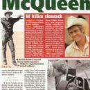 Steve McQueen - Zycie na goraco Magazine Pictorial [Poland] (17 November 2016)