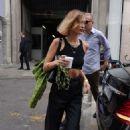 Bella Hadid -Leaves the Alberta Ferretti Fashion Show in Milan