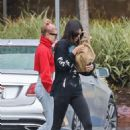 Kendall Jenner and Hailey Baldwin – Visit a lawyer's office in Santa Monica