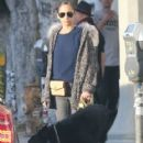 Nicole Richie and Joel Madden out shopping with their dog in West Hollywood, California on December 27, 2013 - 418 x 594