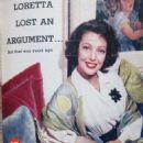 Loretta Young - TV Guide Magazine Pictorial [United States] (8 November 1958) - 454 x 701