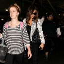 Kate Beckinsale is seen at JFK Airport. (May 04, 2015)