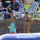 Hailey Bieber in a bikini with Justin Bieber on their vacation in Idaho