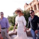 Katy Perry and Orlando Bloom – Visiting the Colosseum in Rome
