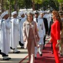 Princesa Letizia de Asturias and Spanish Royals Visit Morocco - July 15, 2014