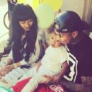 Blac Chyna and Tyga Celebrate King Cairo's 2nd Birthday in Calabasas - October 16, 2014 - 454 x 434
