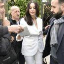Monica Bellucci – Arriving at Vivement Dimanche TV show in Paris - 454 x 710