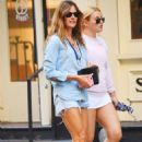 Kelly Bensimon with her daughter out in SoHo - 454 x 683