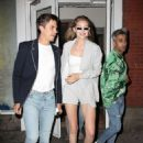 Gigi Hadid – Exits ABC Kitchen with Tan France and Antoni Porowski in New York City - 454 x 681