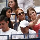 Anna Kendrick and Brittany Snow watch 2019 US Open in NYC - 454 x 309