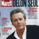 Alain Delon - Paris Match Magazine Cover [France] (October 2002)