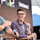 Grant Gustin – Entertainment Weekly PopFest in Los Angeles 10/29/ 2016