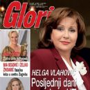 Helga Vlahovic - Gloria Magazine Cover [Croatia] (March 2012)